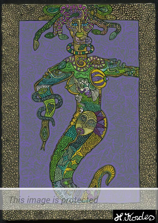 Medusa by Horst Kordes