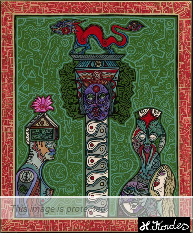 The Spirit of Dragon by Horst Kordes